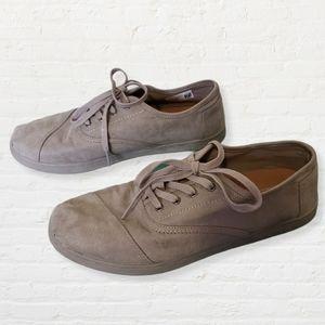 Toms Cordones Venice collection gray sneaker